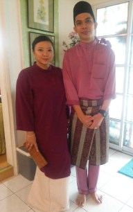 Our 2nd day of Raya visiting