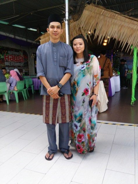Mandatory pic on our Raya open house