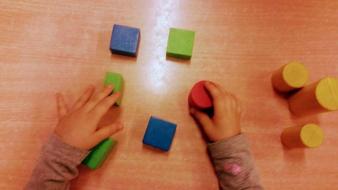 zabawy z dzieckiem niedowidzącym i niewidzącym