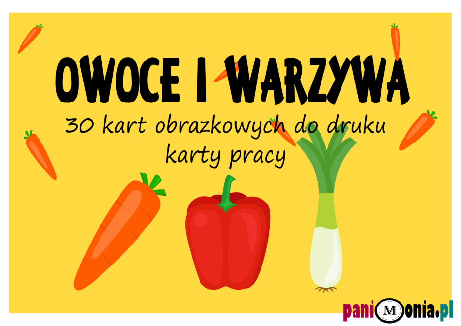 owoce i warzywa okładka