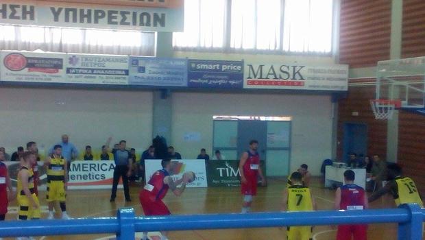 Μαχητές vs Πανιώνιος Μπάσκετ Α2 (56-64)