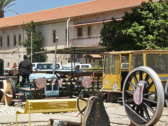 Железнодорожный музей Хайфы