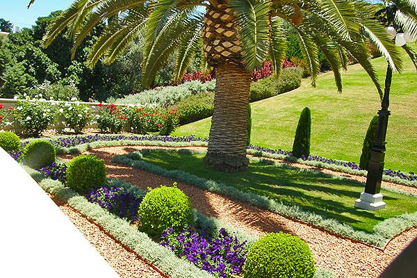 Бахайские сады в Хайфе