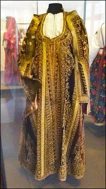 Праздничное платье еврейской женщины из Боснии
