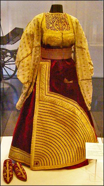 """""""Большое платье"""" еврейской женщины из Марокко, конец 19-го века"""