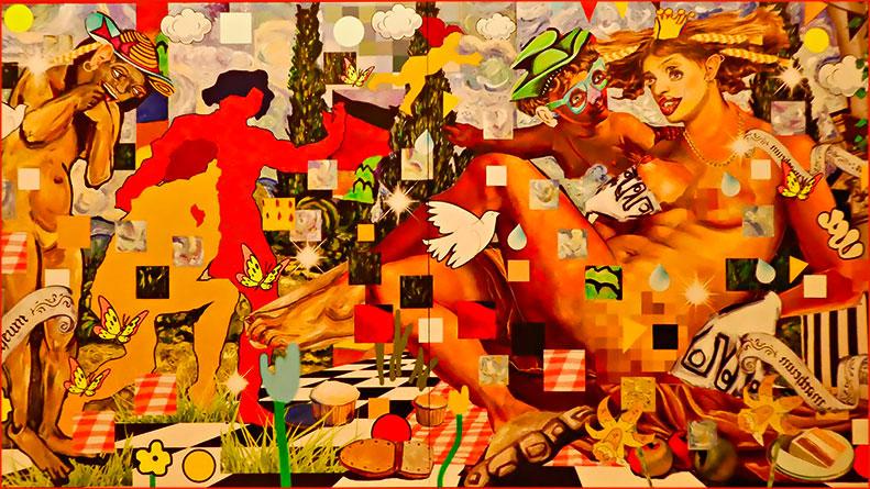 Праздник современного искусства в Герцлийском музее