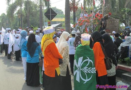 Aksi Solidaritas & Penggalangan Dana Untuk Muslim Gaza di Klaten 3