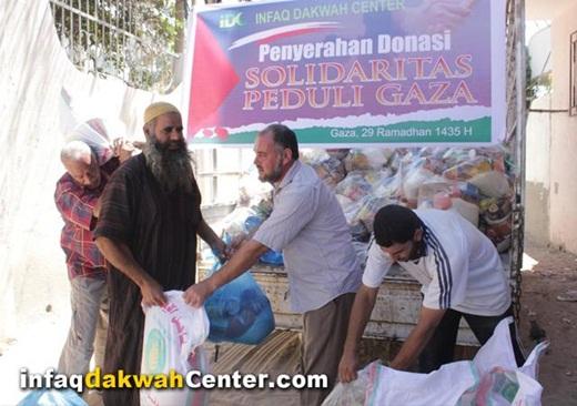 IDC Salurkan Donasi Untuk Warga Gaza 1