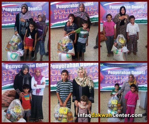 IDC Salurkan Donasi Untuk Warga Gaza 2