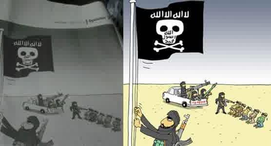 Karikatur Jakarta Post Menghina Islam
