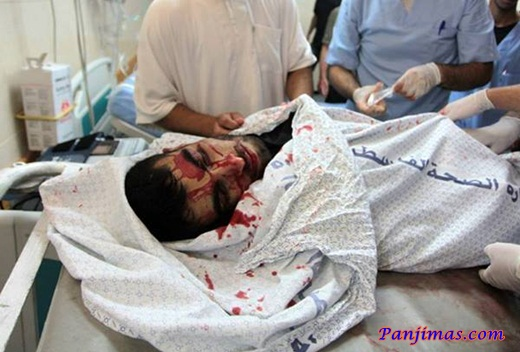 Korban Serangan Zionis Israel Saat Ramadhan 1434 H 1