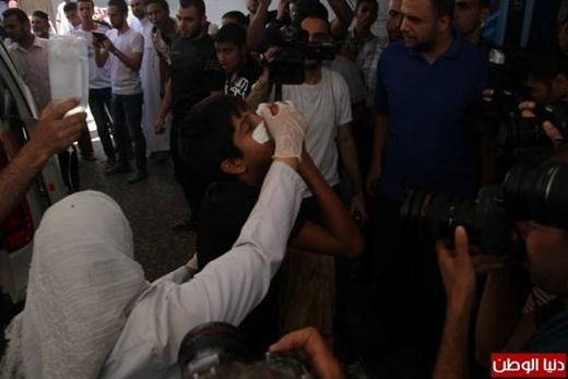 Warga Gaza Korban Serangan Membabi Buta Zionis Israel 8 Juli 2014 5