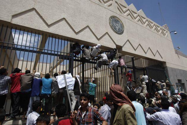kedubes AS di Libya diserang pejuang