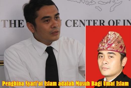 Inilah Tokoh Intoleransi & Penghina Syari'at Islam di Bali, Arya Wedakarna