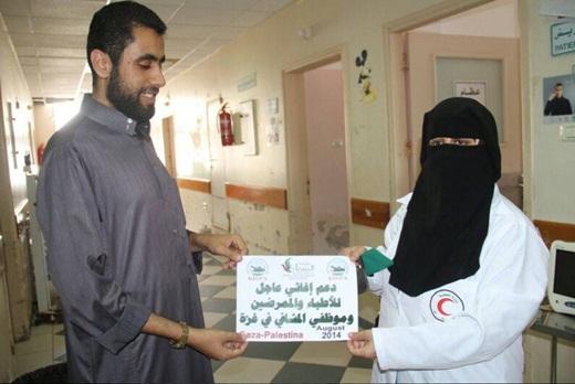 KISPA Salurkan Bantuan untuk Warga Gaza di Bulan Syawwal 2