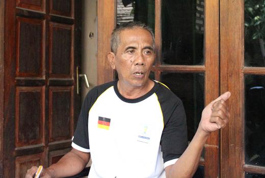 Munasim Tokoh Masyarakat Wakil Ketua RW 013 Taman Galaxy Indah