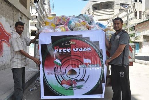 Onim Salurkan Bantuan dari Warga Galela Untuk Muslim Gaza 1