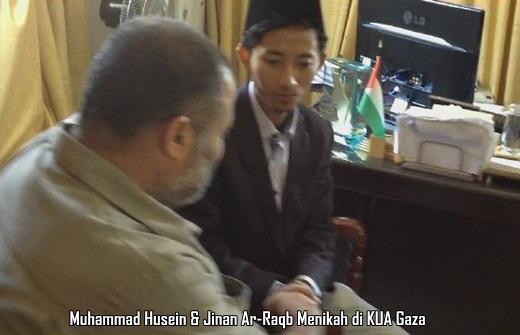 Pasutri Indo-Gaza, Husein & Jinan 1
