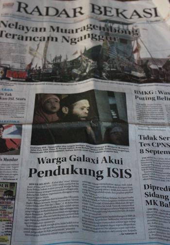 radar bekasi beritakan ISIS