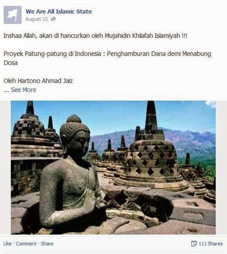 ISIS ancam Borobudur