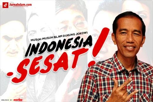 Jokowi Didukung Aliran Sesat