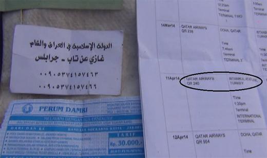 Dokumen Identitas WNI Syahid di Suriah 1