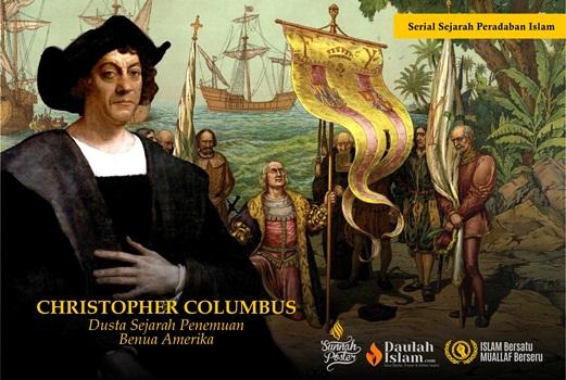 Christopher Columbus Berdusta Soal Penemuan Benua Amerika