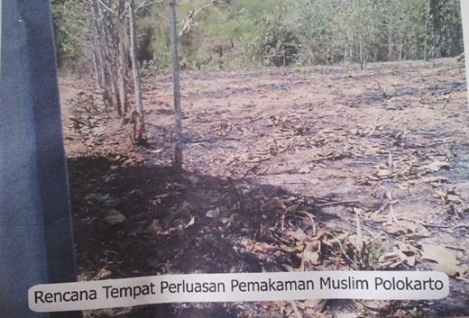 Perluasan Pemakaman Muslim di Polokarto Solo