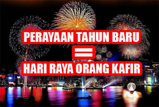 Tahun Baru Perayaan Orang Kafir!