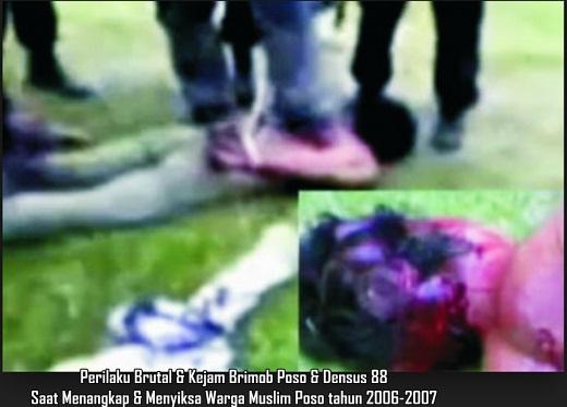 Densus 88 Siksa & Bantai Warga Muslim Poso