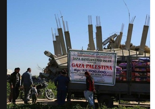 FPI Salurkan Bantuan pada Warga Gaza 4