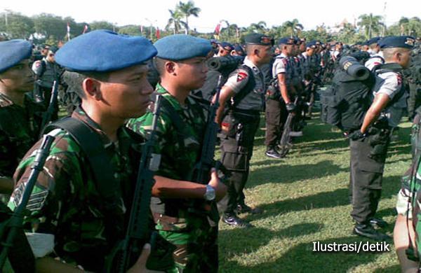 Buru Mujahidin Indonesia Timur, Aparat TNI dan Polri Gelar Operasi Camar 2015 Sisir Poso