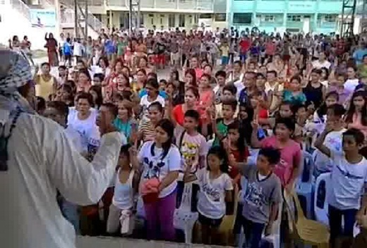 Subhanallah.. Satu Desa di Filipina Secara Bersama-Sama Masuk Islam