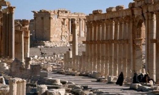 Kota Palmyra Suriah