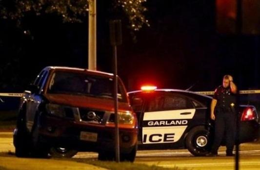 Polisi Garland Texas