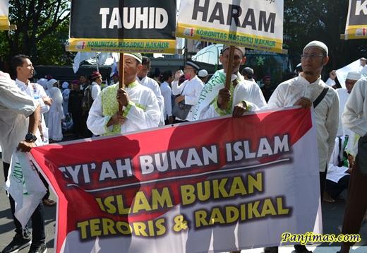 Syi'ah Bukan Islam dari KMM saat Parade Tauhid