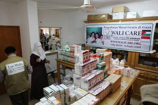 Walicare Adakan Pengobatan Gratis di Gaza 3