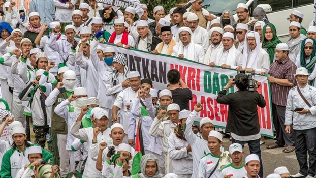 Aksi GMJ & FPI Lengserkan Ahok