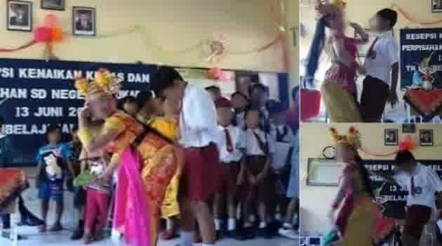 Tarian Porno di Sekolahan SD di Bali