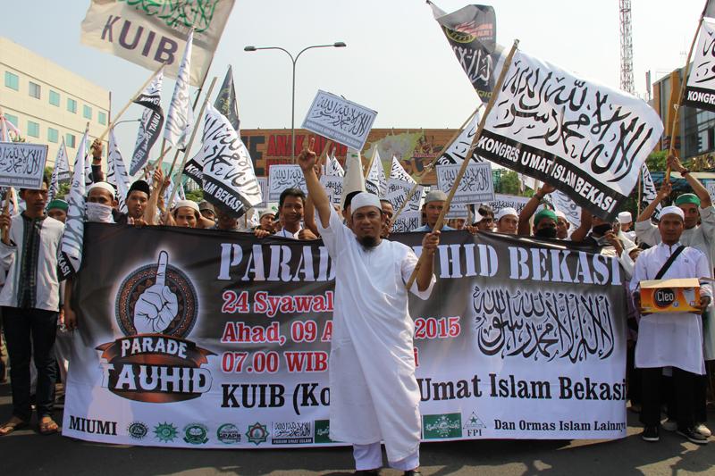 Parade Tauhid Bekasi Ustadz Bernard Abdul Jabbar