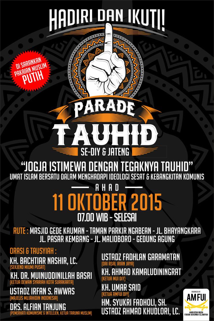 Ikuti Parade Tahuid se DIY & Jateng
