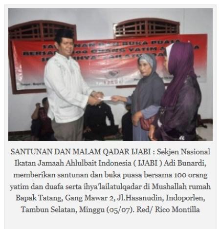 Adi Bunardi Syiah IJABI