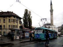 Ulica Telali. Tramwaj typu Tatra K2.