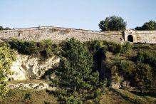 Kalemegdan- widok od strony Dunaju