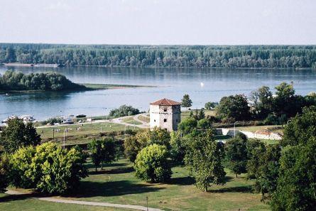 Ujście Sawy do Dunaju