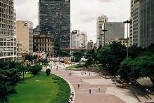 São Paulo- park Anhangabaú
