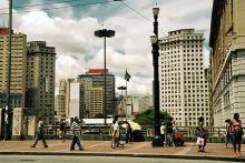 São Paulo- ulica Baixos do Viaduto do Chá