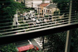 São Paulo w deszczowy dzień