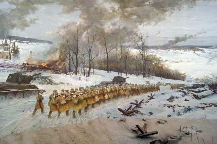 Kontrofensywa wojsk radzieckich pod Moskwą w grudniu 1941 roku- Контрнаступление советских войск под Москвой в декабре 1941 года