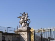 Jardin des Tuileries- detal ogrodzenia